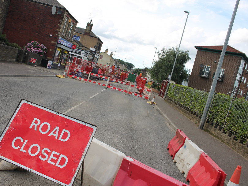 Main route to M62 closed for weeks
