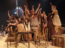 Les Miserables wows audiences in pop-up theatre