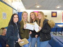 Sixth formers celebrate a crop of excellent results