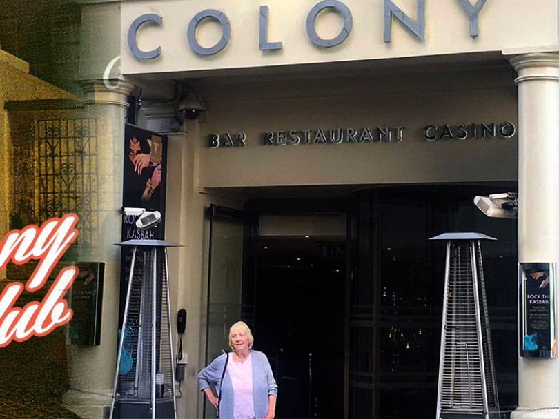 By George, it's still full of film history in the heart of Mayfair...