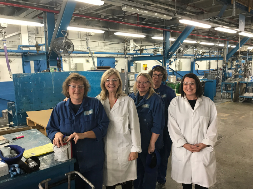 MP Tracy visits PPG