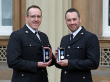Bravery award for PC pair who caught Mair