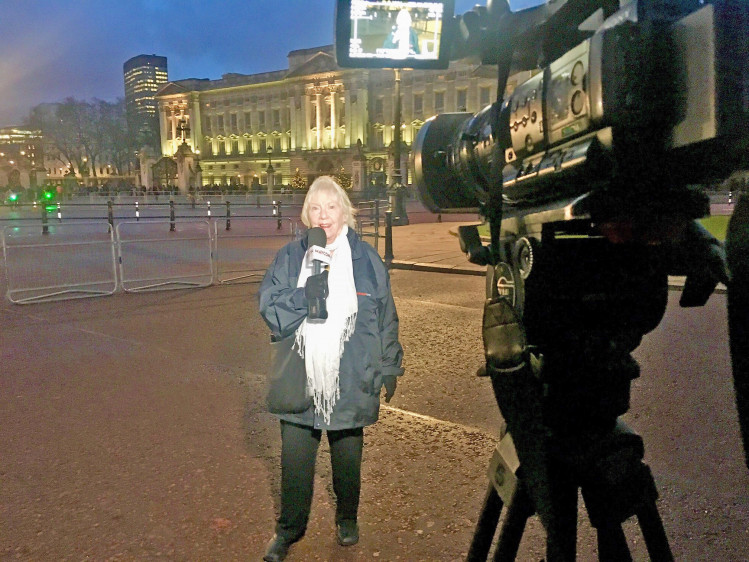 The day I reported live to the world from outside Buckingham Palace