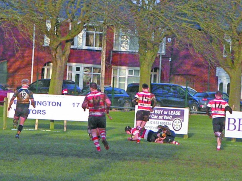 Cleckheaton RUFC return to action with defeat