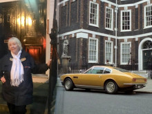 Who could not be 'persuaded' to visit Sir Roger Moore's famous TV home?