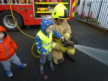 Little Acorns become little firefighters!
