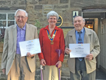 Long service tributes to Rotarians