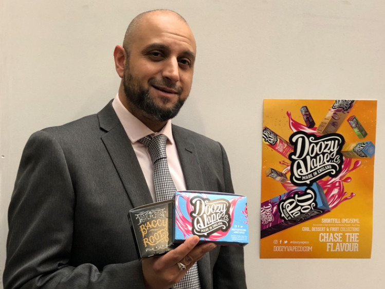 Imran's vaping company scales new heights with big Asda deal