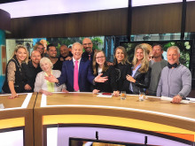 A right royal night of  celebrations for 'SBS Shownieuws' in Holland