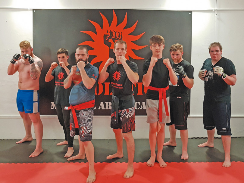 Martial arts instructor aiming for glory