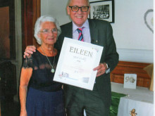 Eileen's 90th birthday bash goes swimmingly