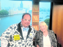 Moo ... say hello to 'The Cow Guy' from Fox Business News