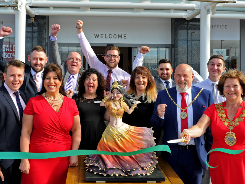 A Bollywood opening in Birstall