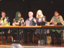 Passionate debate at MP Tracy's public meeting