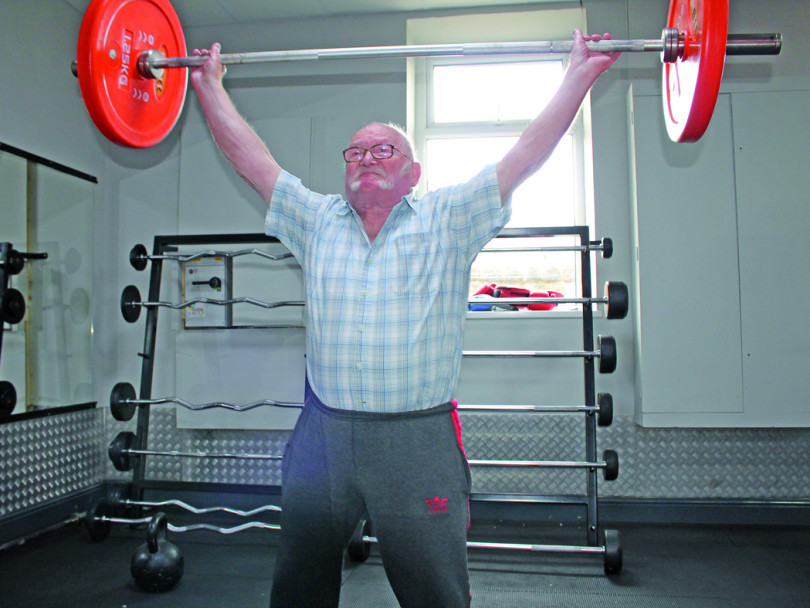 Let's be Frank with 81-year-old weightlifting sensation