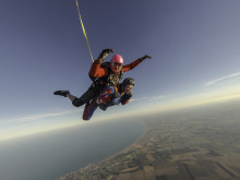 Birstall pensioner jumps out of plane