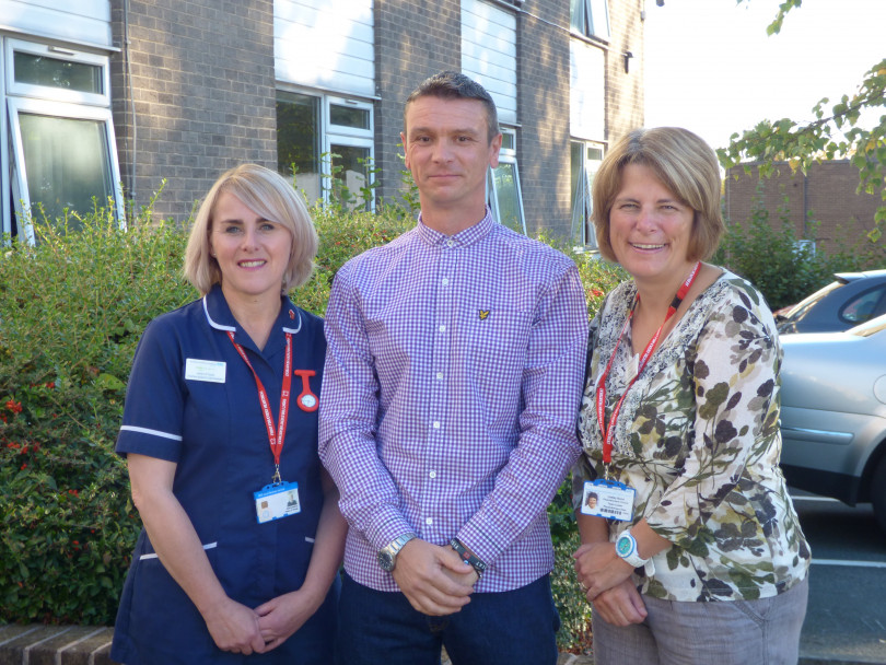 Heart patient pays tribute to cardiac team in Dewsbury