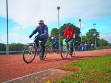 Cycle speedway back on track!