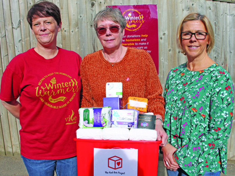 Two charities team up to end period poverty