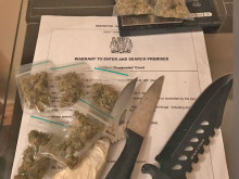 Raid nets drugs and weapons