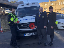Public ensure poppies adorn police vehicles
