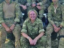 MP discovers army life in Kenya