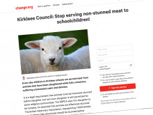 Thousands sign petition urging Kirklees to think again on non-stunned meat