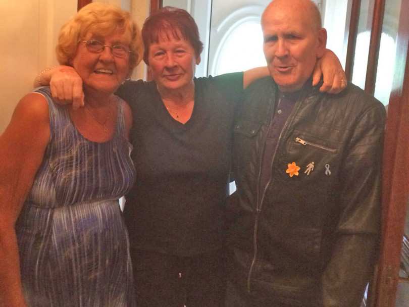Siblings reunited after 60 years look for another long-lost brother