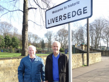 Signs of the times ... Liversedge on the map
