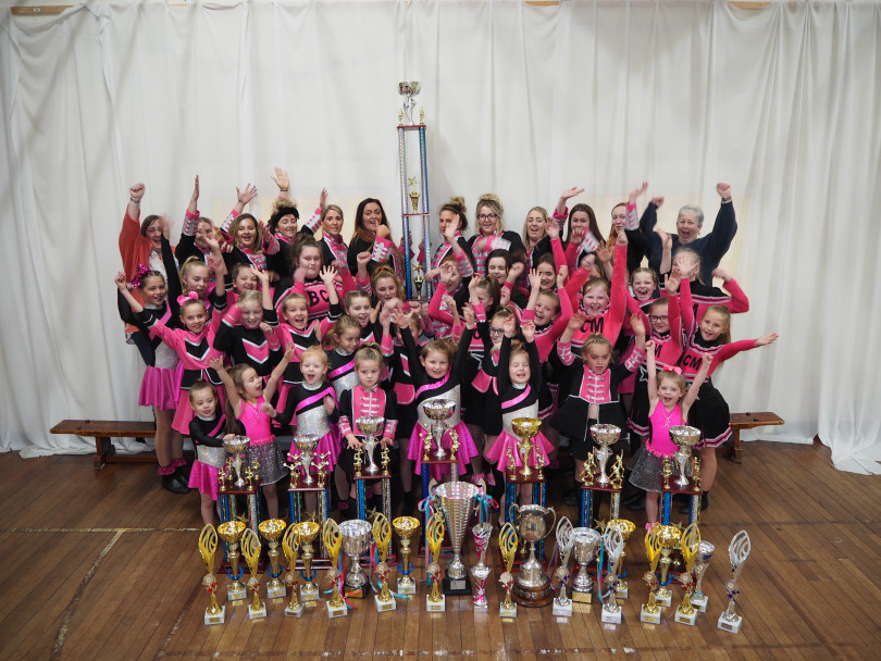 Keeeeeep twirling! Major accolade for majorettes