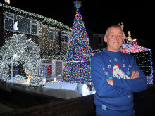 Derek's lights fantastic is praised in Parliament