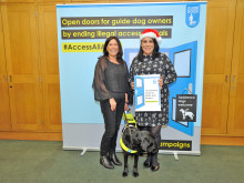 MPs lend support to guide dog campaign
