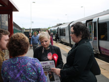 Batley MP is steaming over trains
