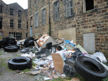 Council 'powerless' to halt district's fly-tipping plague