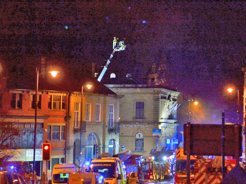 Five men still in hospital after 'unexplained' explosion