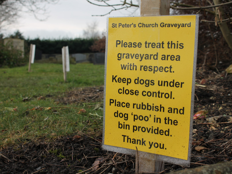 Grieving relatives kick up a stink over disrespectful dog owners
