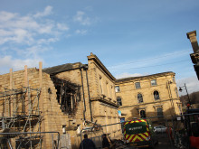 Flats blast 'caused by exploding gas bottles'