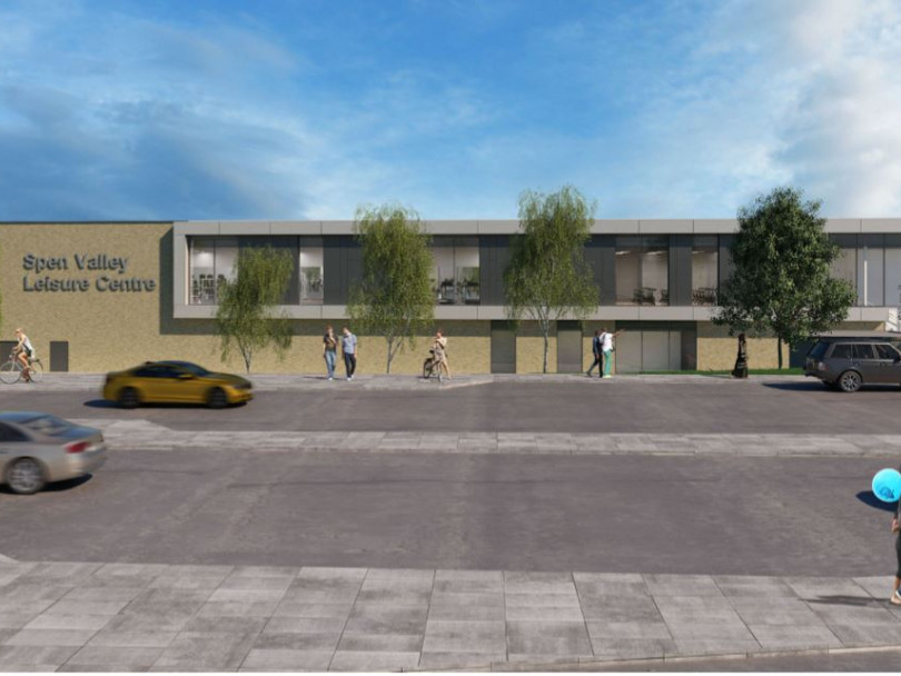 Spen sports centre plans go on display