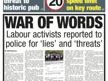 Labour activists reported to police for 'lies' and 'threats'