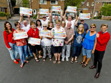 Dewsbury neighbours celebrate huge lottery win