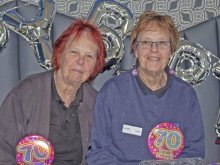 Twins celebrate milestone birthday after 40 years working together