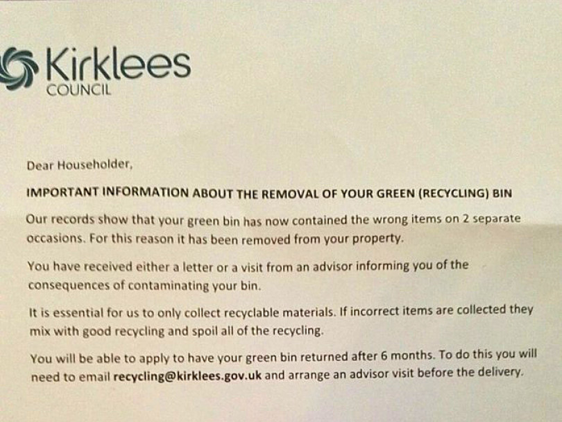 Green bin snoopers coming to your area soon...