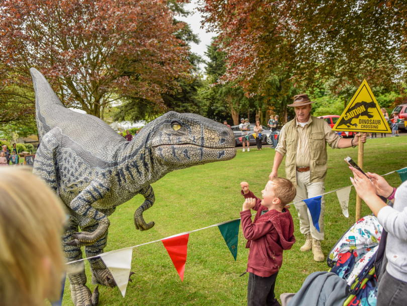 Curious goings-on at Crow Nest Park festival