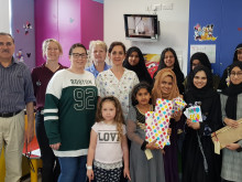 Kumon Y'All youth group gifts Eid joy to children in hospital