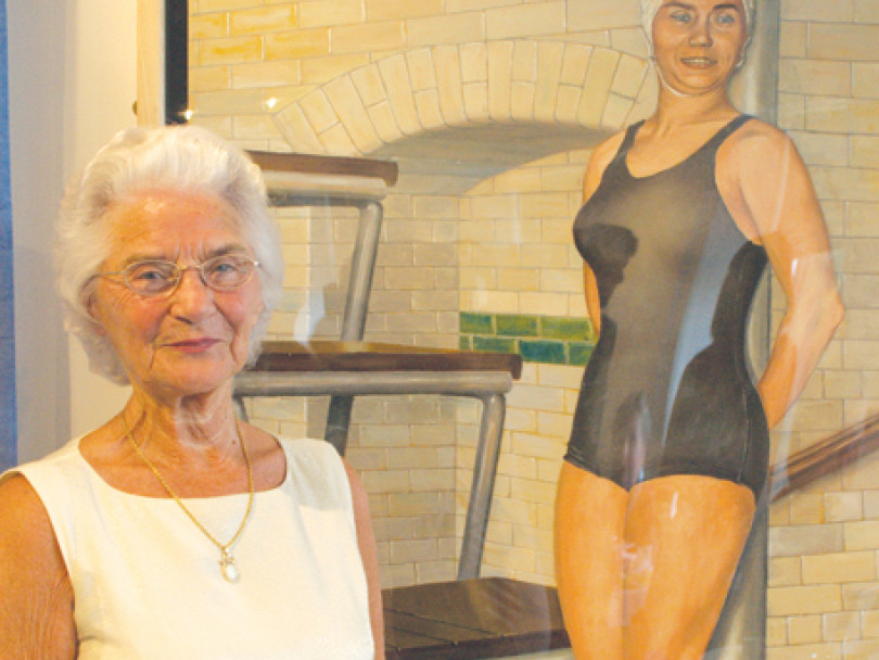 Swimming legend Eileen honoured with an MBE