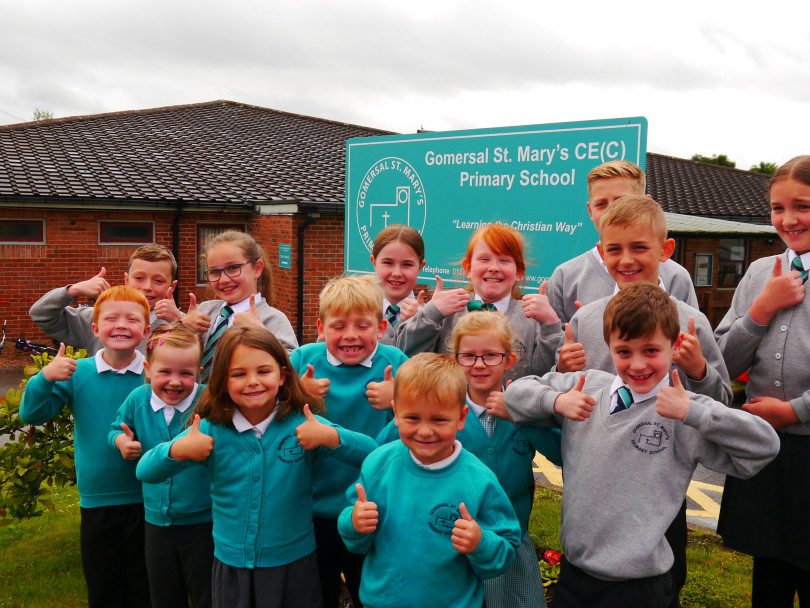 Ofsted thumbs-up for Gomersal primary