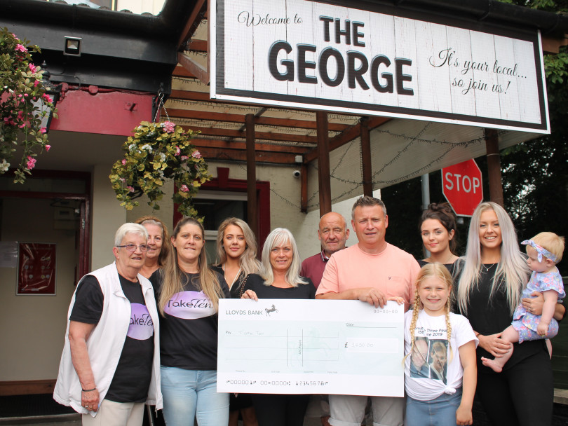 Pub regulars take on trek in the Dales to raise cash for charity
