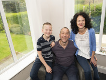 Men can be care-givers too, says foster dad Phil