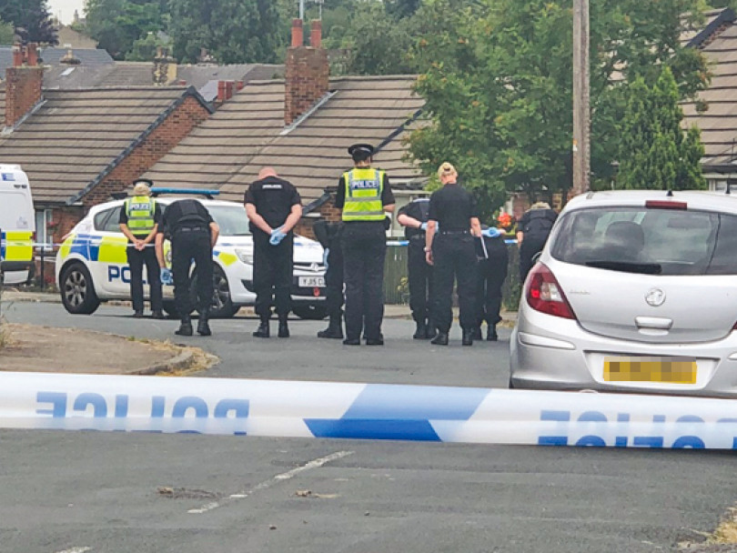 Two arrested after violence in Dewsbury