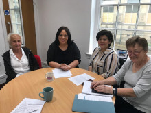 Park Mansion team call up MP to promote their vision